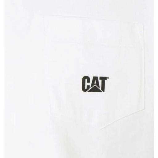 CAT Camiseta Basic Pocket T-Shirt Cream [2]
