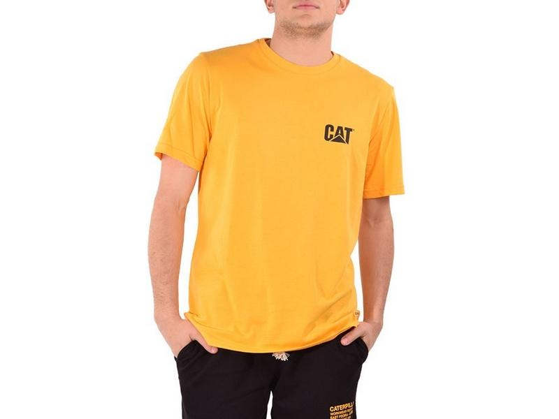 CAT Camiseta Basic Pocket T-Shirt Yellow