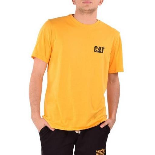CAT Camiseta Basic Pocket T-Shirt Yellow [0]