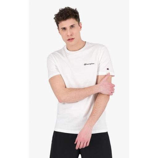 CHAMPION Camiseta Crewneck White