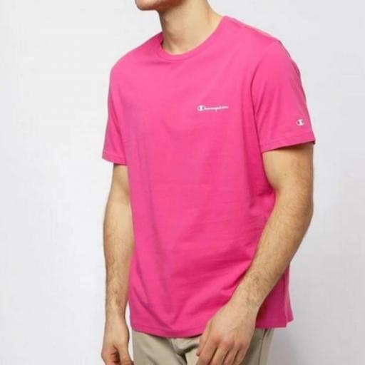 CHAMPION Camiseta Legacy Crewneck Pink Clr