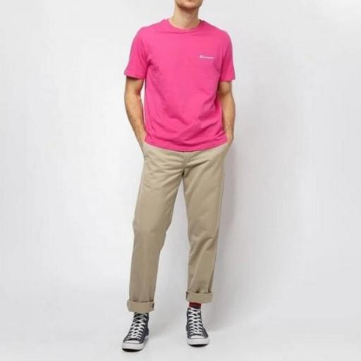 CHAMPION Camiseta Legacy Crewneck Pink Clr [2]