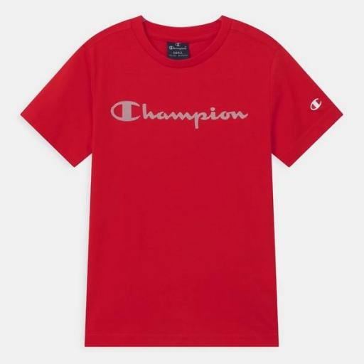CHAMPION Camiseta niño 305169-RS046 Red