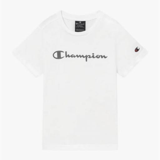 CHAMPION Camiseta niño 305169-RS046 White