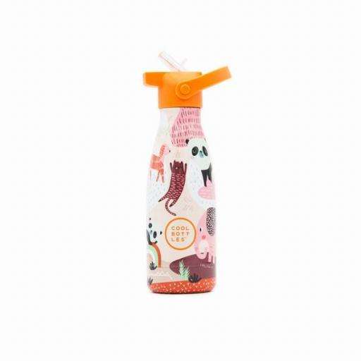 COOL BOTTLES Botella térmica 260 ml. Kids Panda Gang [2]
