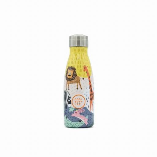 COOL BOTTLES Botella térmica 260 ml. Kids Savannah Kingdom [1]