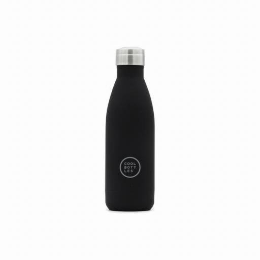 COOL BOTTLES Botella térmica 350 ml. Mono Black