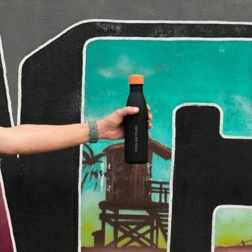 COOL BOTTLES Botella térmica 500 ml. Mono Black [3]