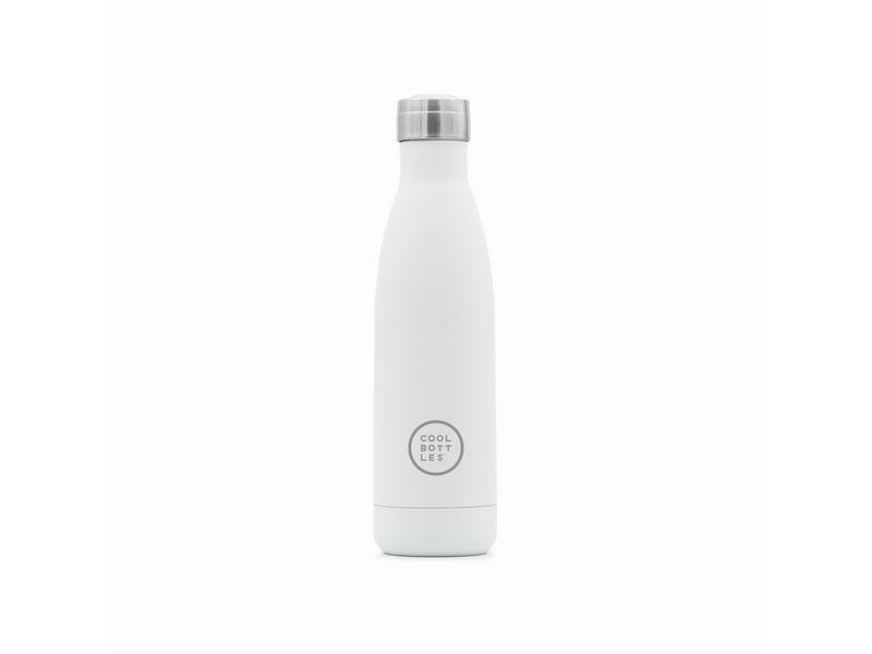 COOL BOTTLES Botella térmica 500 ml. Mono White