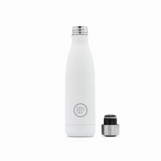 COOL BOTTLES Botella térmica 500 ml. Mono White [1]