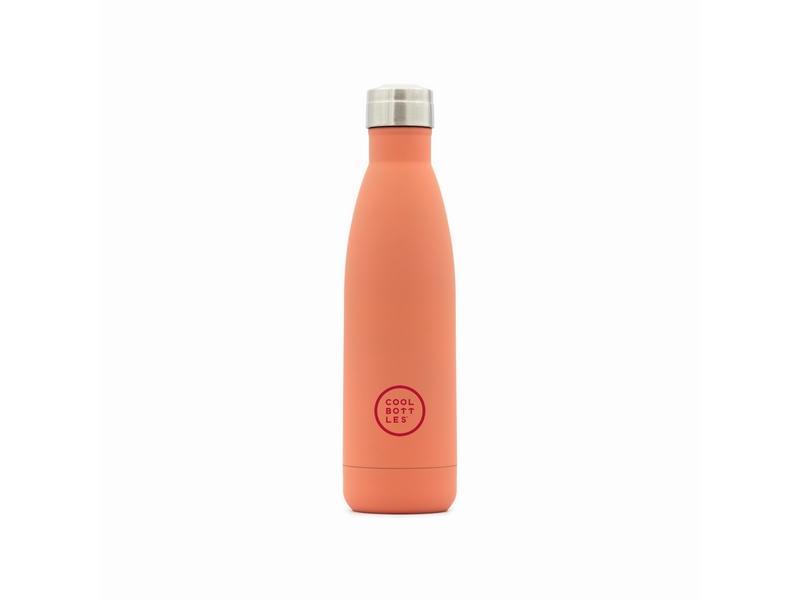 COOL BOTTLES Botella térmica 500 ml. Pastel Coral