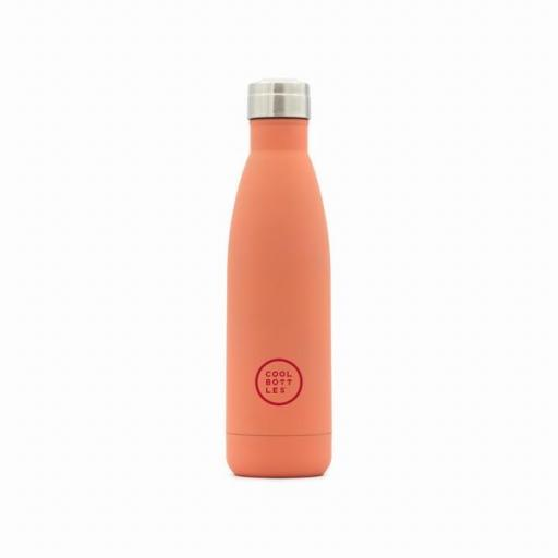 COOL BOTTLES Botella térmica 500 ml. Pastel Coral