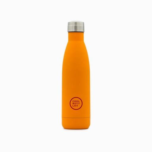COOL BOTTLES Botella térmica 500 ml. Vivid Orange