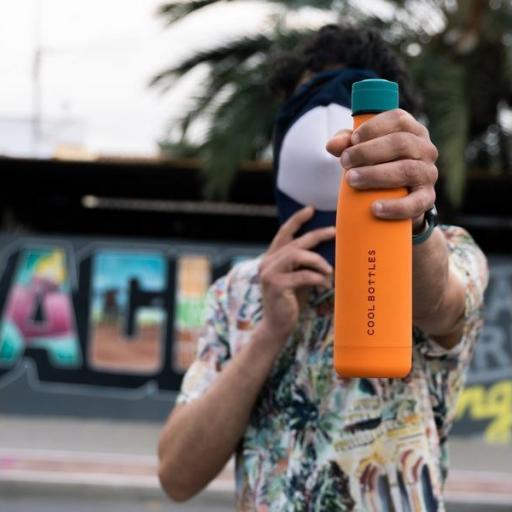 COOL BOTTLES Botella térmica 500 ml. Vivid Orange [3]
