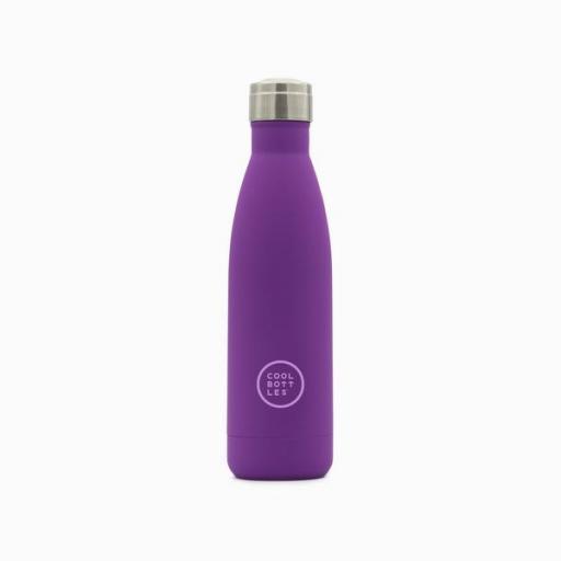 COOL BOTTLES Botella térmica 500 ml. Vivid Violet