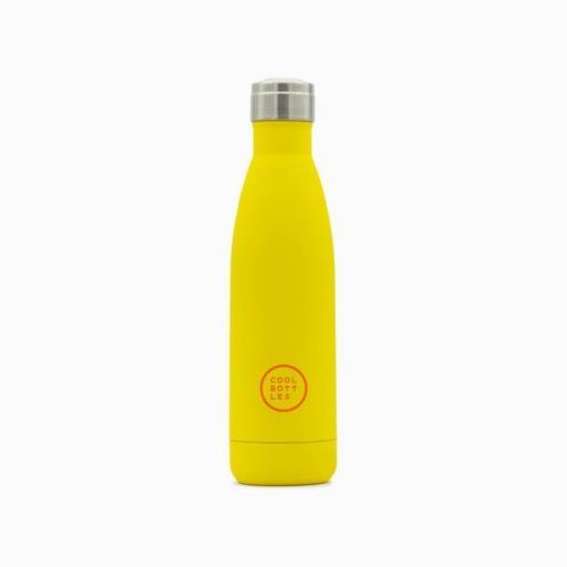 COOL BOTTLES Botella térmica 500 ml. Vivid Yellow