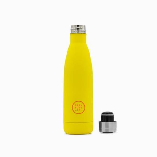 COOL BOTTLES Botella térmica 500 ml. Vivid Yellow [1]