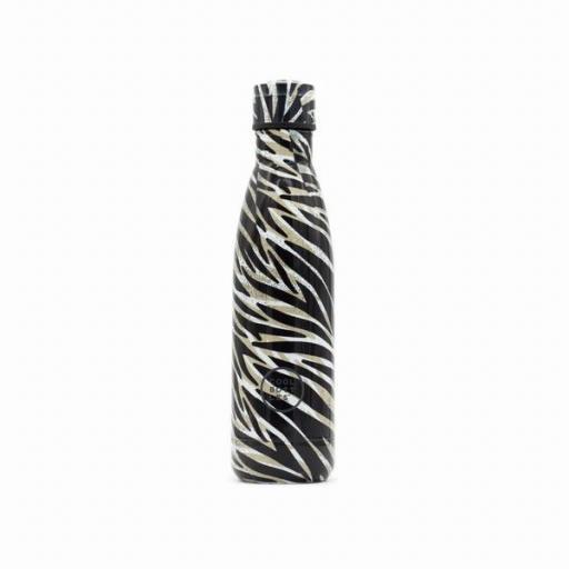 COOL BOTTLES Botella térmica 500 ml. Wild Zebra