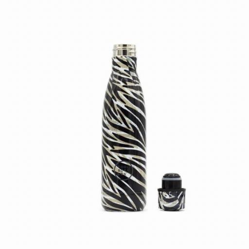 COOL BOTTLES Botella térmica 500 ml. Wild Zebra [1]
