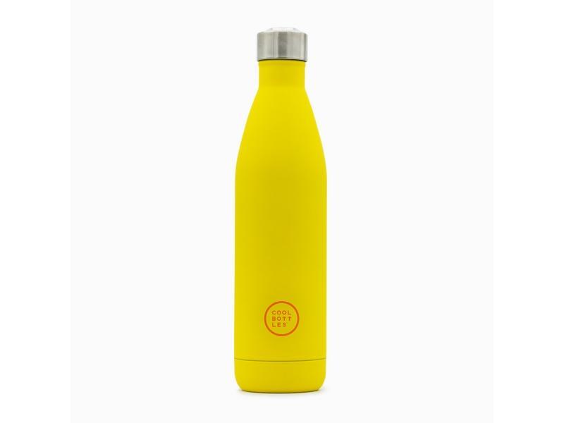 COOL BOTTLES Botella térmica 750 ml. Vivid Yellow