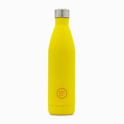 COOL BOTTLES Botella térmica 750 ml. Vivid Yellow