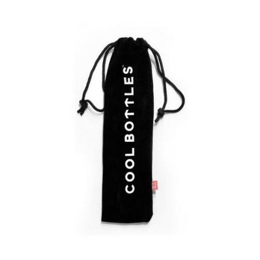 COOL BOTTLES Pack 2 pajitas para botellas y vasos térmicos Acero [1]