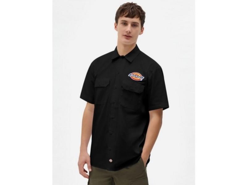 DICKIES Camisa Clintondale SS Work Black
