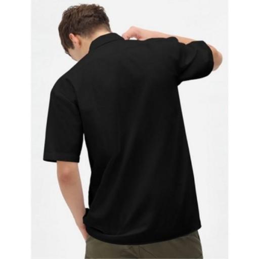 DICKIES Camisa Clintondale SS Work Black [1]