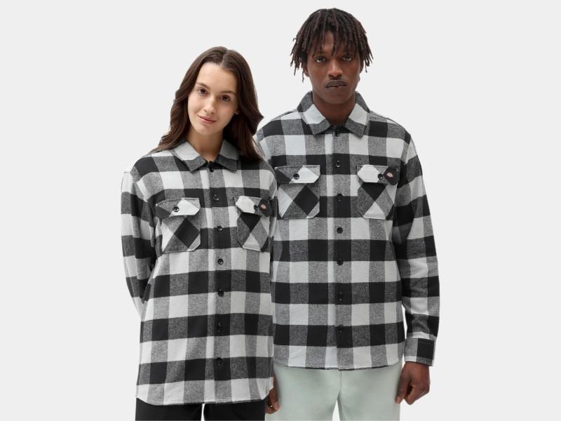 DICKIES Camisa New Sacramento Shirt Jadeite
