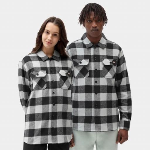 DICKIES Camisa New Sacramento Shirt Jadeite [0]