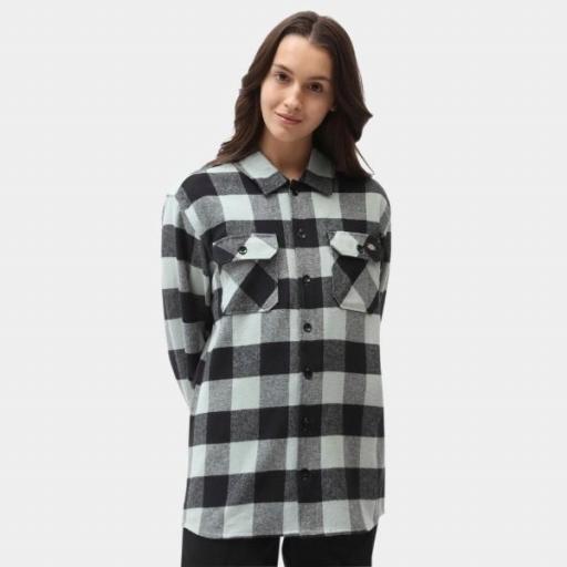 DICKIES Camisa New Sacramento Shirt Jadeite [2]