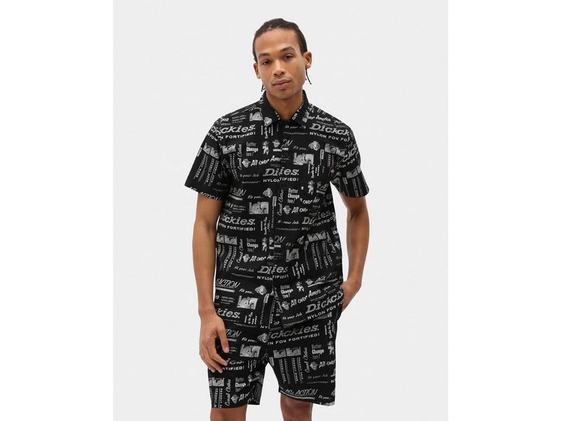 DICKIES Camisa Pillager Shirt Black