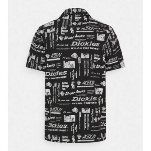 DICKIES Camisa Pillager Shirt Black [2]