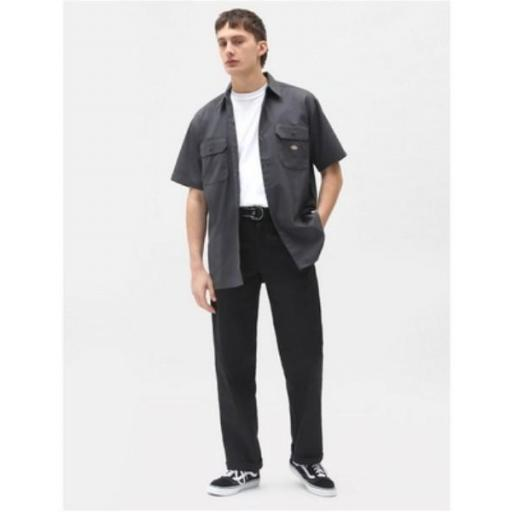 DICKIES Camisa Short Sleeve Work Shirt Charcoal Grey [3]