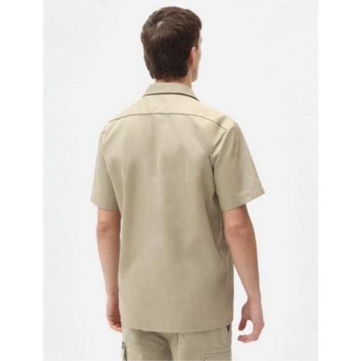 DICKIES Camisa Short Sleeve Work Shirt Khaki [1]