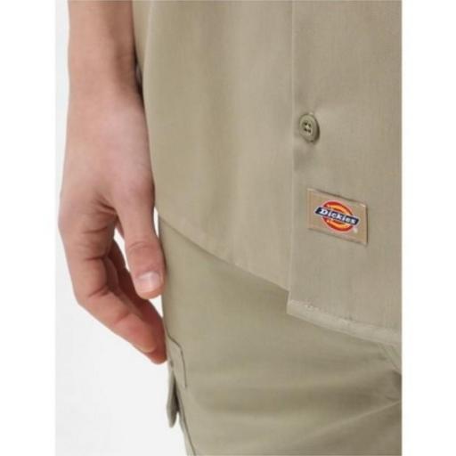 DICKIES Camisa Short Sleeve Work Shirt Khaki [2]