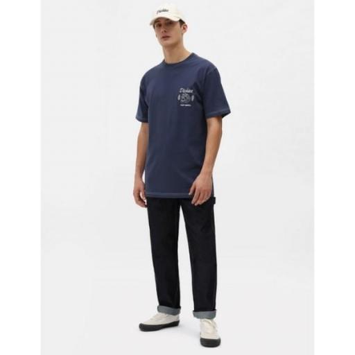 DICKIES Camiseta Halma Tee Navy Blue [1]