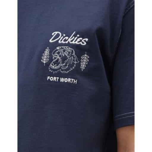 DICKIES Camiseta Halma Tee Navy Blue [2]