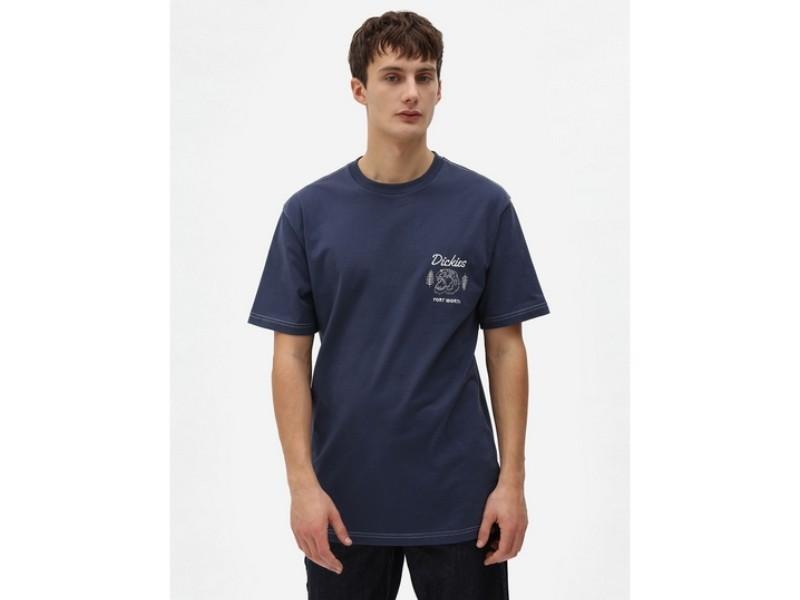 DICKIES Camiseta Halma Tee Navy Blue