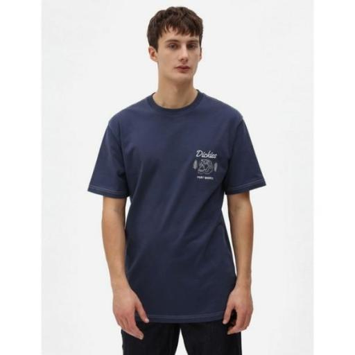 DICKIES Camiseta Halma Tee Navy Blue