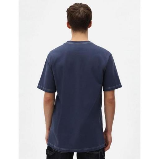 DICKIES Camiseta Halma Tee Navy Blue [3]
