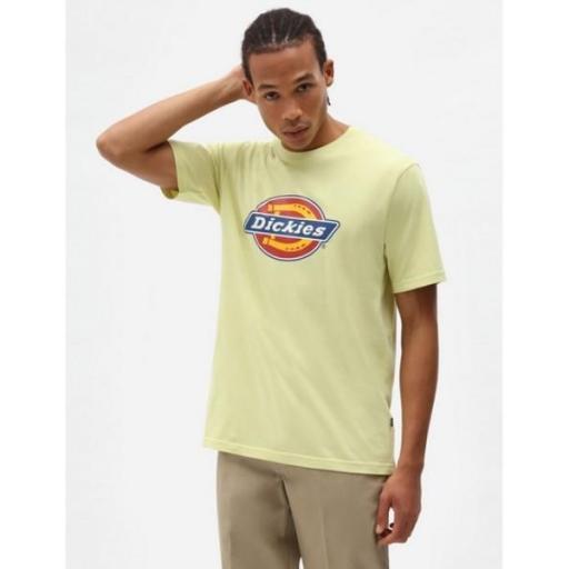 DICKIES Camiseta Icon Logo Tee Mellow Green