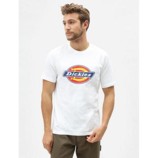 DICKIES Camiseta Icon Logo Tee White