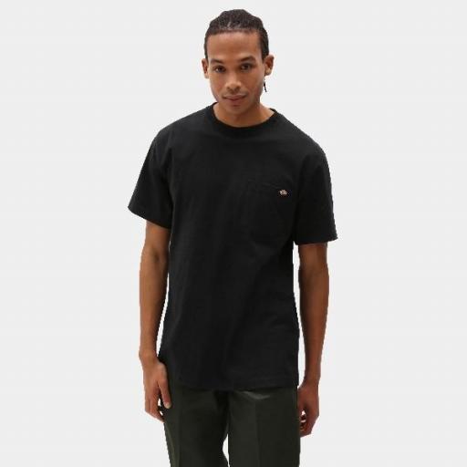 DICKIES Camiseta Porterdale Mens Short-Sleeved T-Shirt Black
