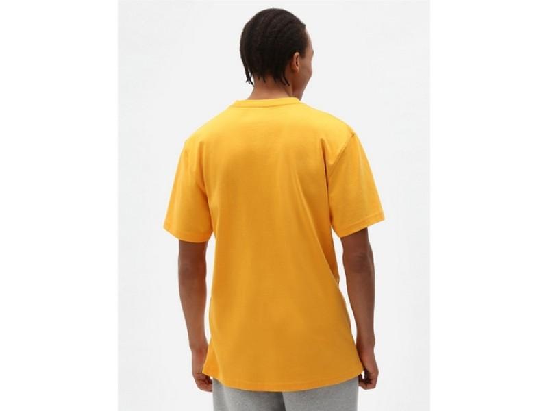 DICKIES Camiseta Porterdale Mens Short-Sleeved T-Shirt Cadnium Yellow