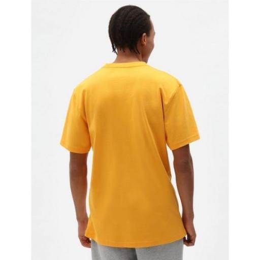 DICKIES Camiseta Porterdale Mens Short-Sleeved T-Shirt Cadnium Yellow [0]