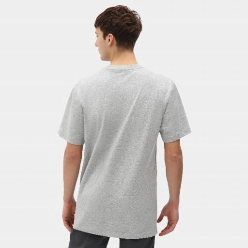 DICKIES Camiseta Porterdale Mens Short-Sleeved T-Shirt Heather Grey [0]