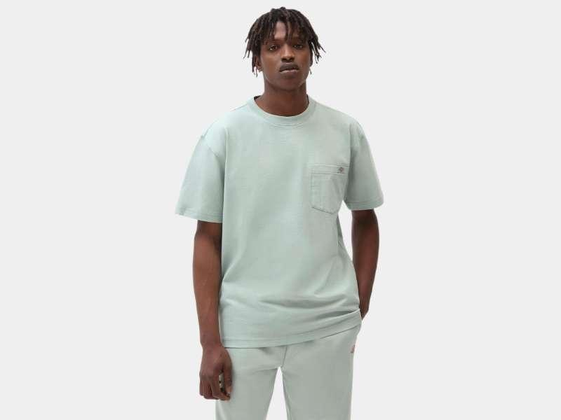 DICKIES Camiseta Porterdale Mens Short-Sleeved T-Shirt Jadeite