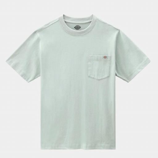 DICKIES Camiseta Porterdale Mens Short-Sleeved T-Shirt Jadeite [3]