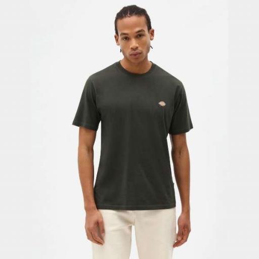 DICKIES Camiseta SS Mapleton T-Shirt Olive Green [1]